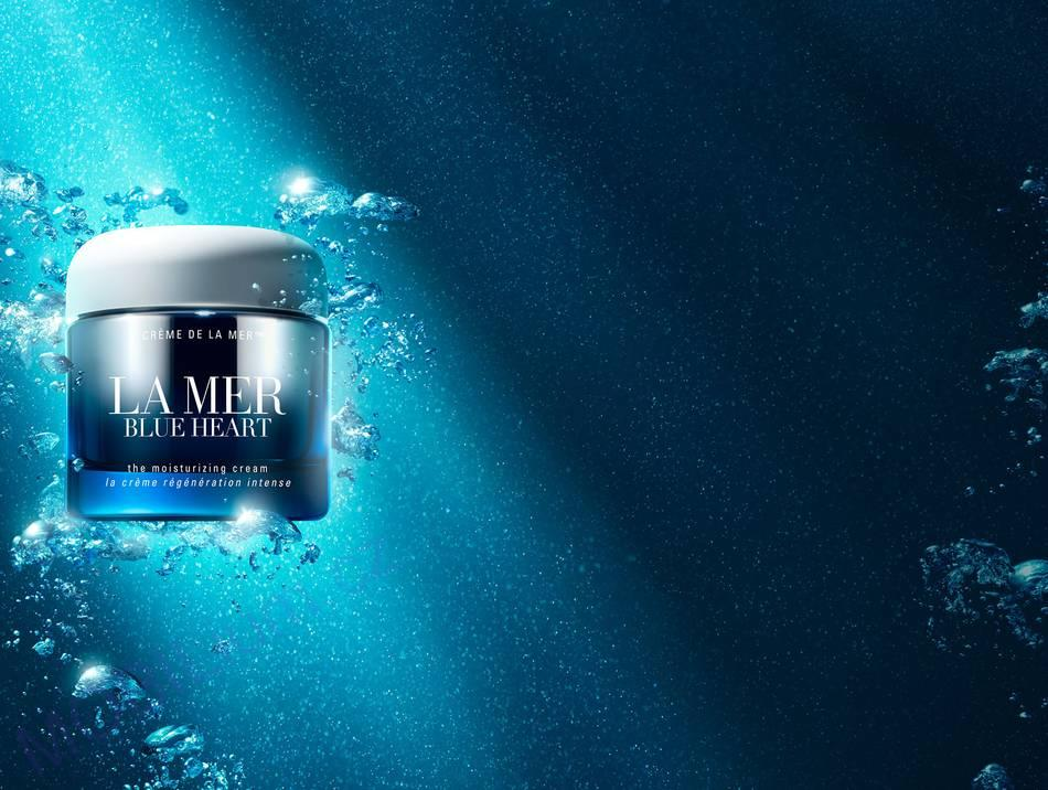 La Mer 'Blue Heart' Moisturizing Cream 100ml
