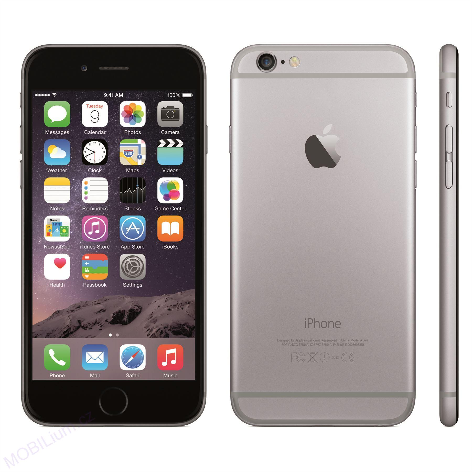 space grey iphone apple apple iphone 6 32gb space grey mobilium cz 13007