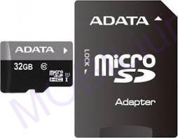 A-Data micro SDHC karta 32GB Class 10 + adaptér