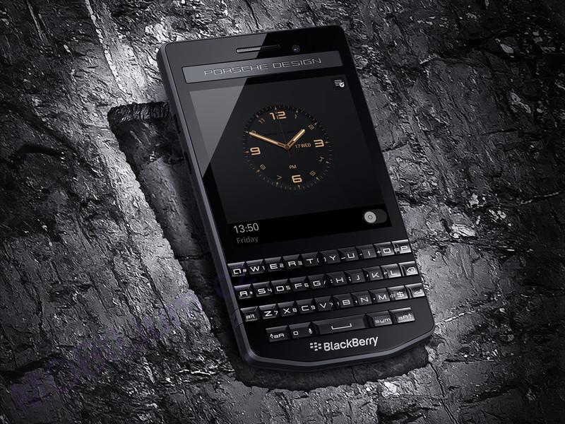 BlackBerry Porsche P'9983 Graphite