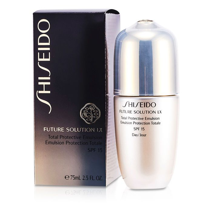 Shiseido Future Solution LX denní emulze SPF 15 Total Protective Emulsion 75 ml