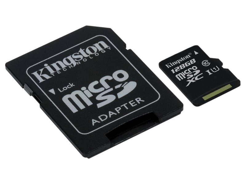 Kingston micro SDXC karta 128GB Class 10