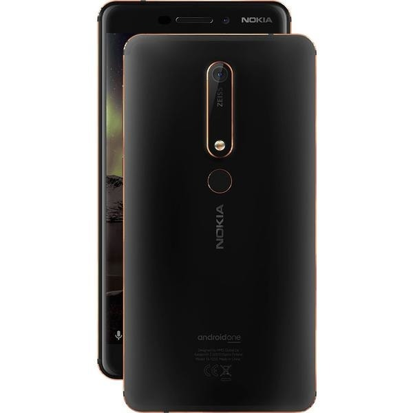 Nokia 6.1 Dual SIM Black/Copper