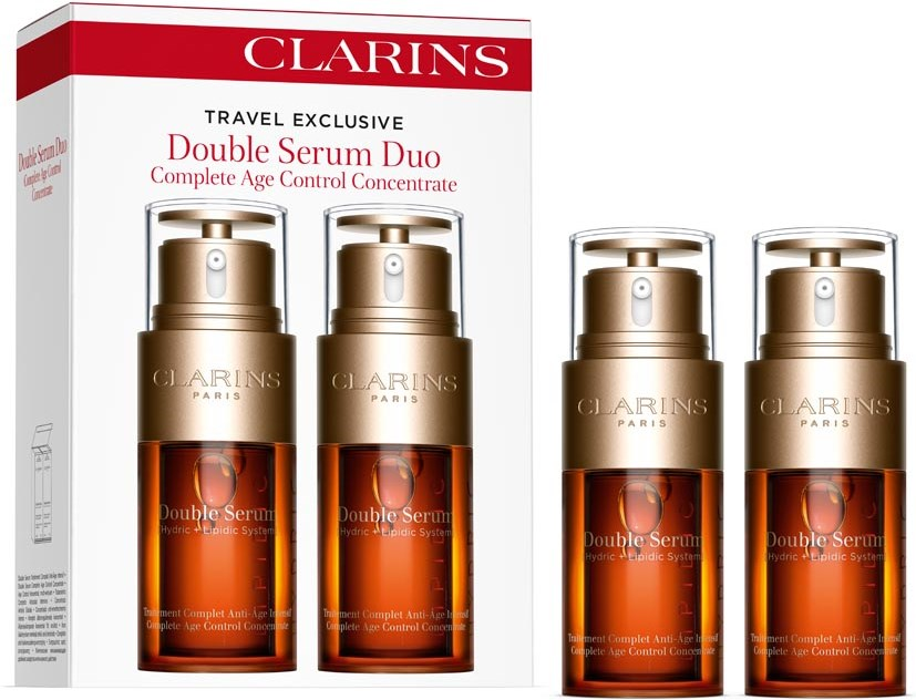Clarins Double Serum Complete Age Control Concentrate 2 x 30 ml