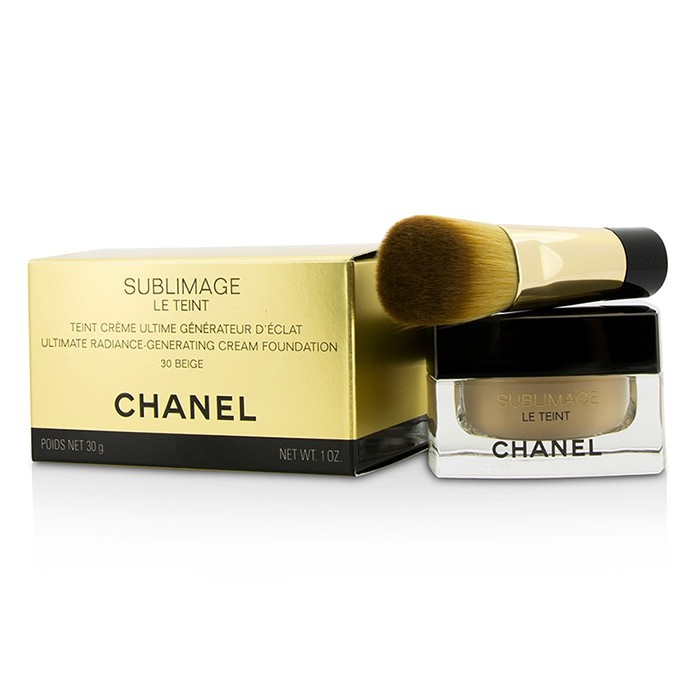 Chanel Rozjasňující krémový make-up Sublimage Le Teint (Ultimate Radiance Generating Cream Foundation) 30 g - Odstín: 30 Beige