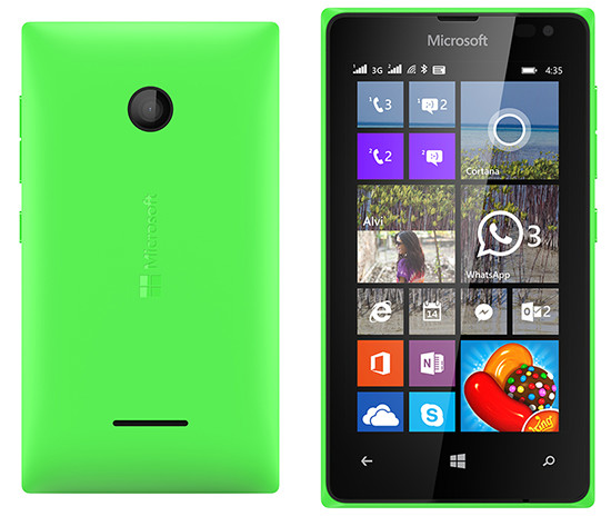Microsoft Lumia 435 DS Green