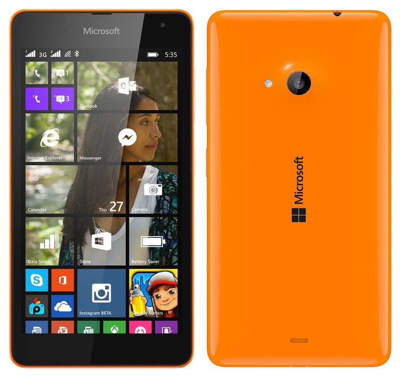 Microsoft Lumia 435 DS Orange