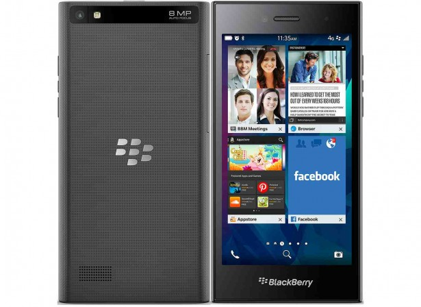 BlackBerry Leap Shadow Grey