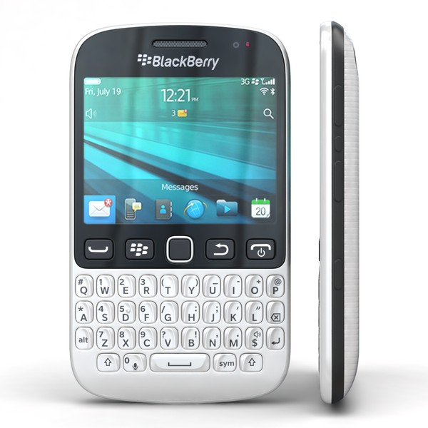 BlackBerry 9720 Samoa White