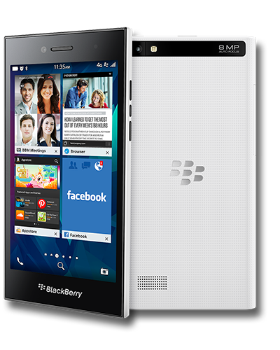 Blackberry Leap White