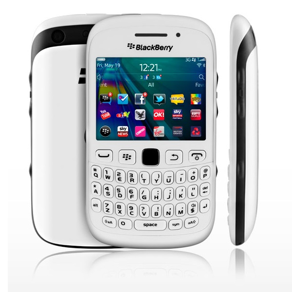 BlackBerry 9320 QWERTY Curve White